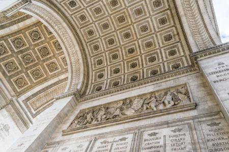 Arc de Triomphe Deckenverzierung