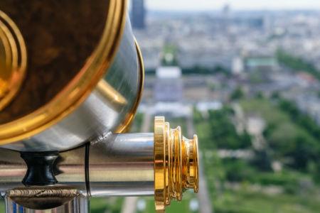 Blick auf Paris oder auch nicht