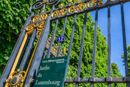 Eingang Vorpark Jardin du Luxembourg