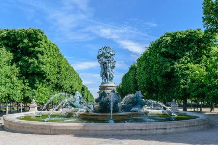 Jardin du Luxembourg Fontaine de Observatoire