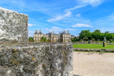 Jardin du Luxembourg Palais