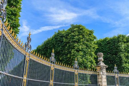Zaun des Jardin du Luxembourg