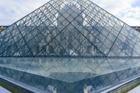 Musee du Louvre Glaspyramide
