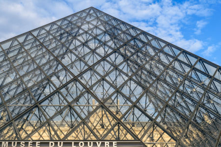 Musee du Louvre Haupteingang