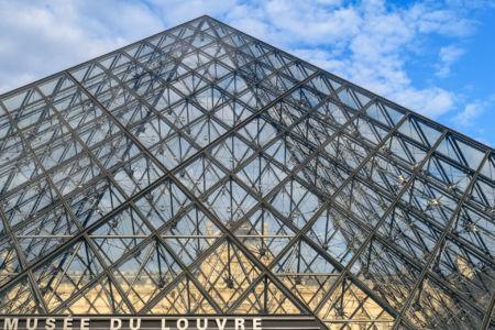 Musee du Louvre Haupteingang