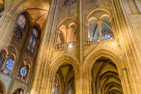 Notre Dame de Paris Innenraum