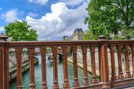 Blick von der Pont au Double