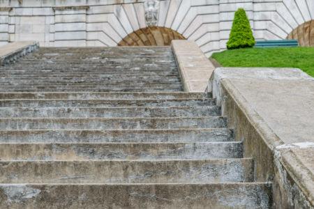 Sacre Cœur de Montmartre Treppenstufen