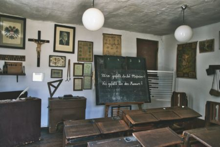 Dorfmuseum Mönchhof Klassenraum