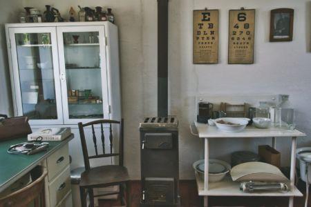 Dorfmuseum Mönchhof Krankenzimmer