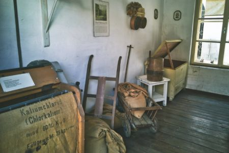 Dorfmuseum Mönchhof Lagerraum