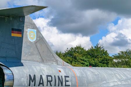 Lockheed F-104 der Marine